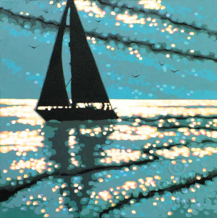 12. sailing the serene sea