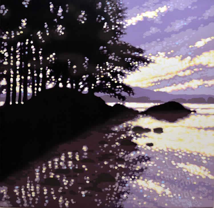 22. lakeside sunrise