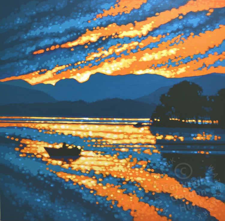 23. langdale sunset