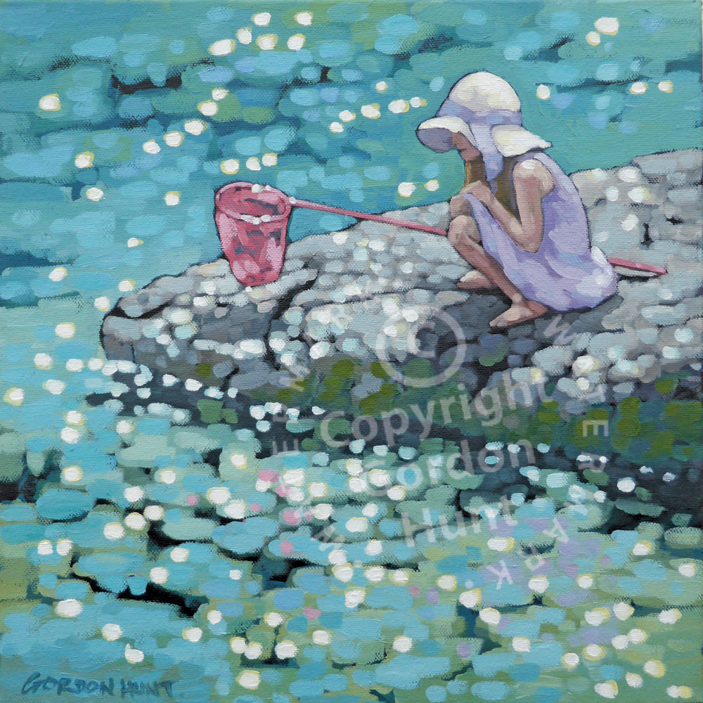 Patience. Gordon Hunt. Limited Edition Print. Impressionist style.