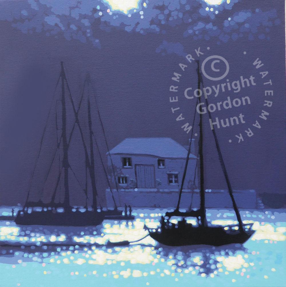 Cool summer shadows. Gordon Hunt. Limited edition print.