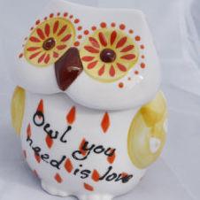Owl You Need is Love - Cookie Jar
