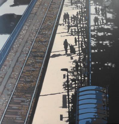 St. Ives Station sunshine