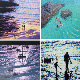 Set of four Art Cards