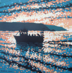 fishing trip returns - SOLD