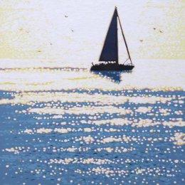 sailing the sparkling sea