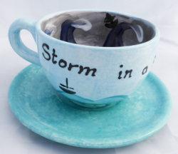 storm in a big tea cup