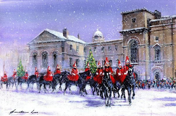 Christmas Horseguards