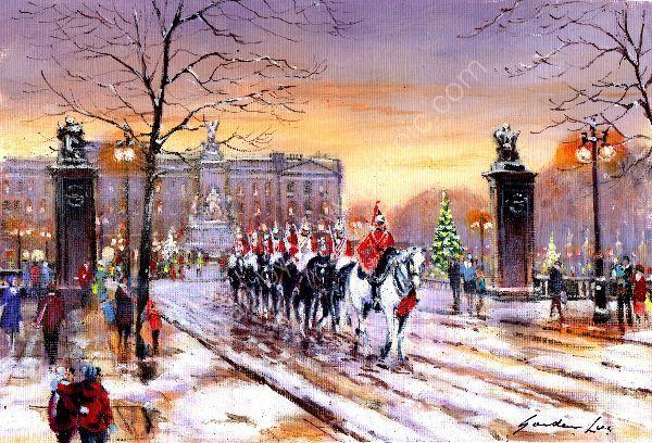 Horseguards  Buckingham  Palace