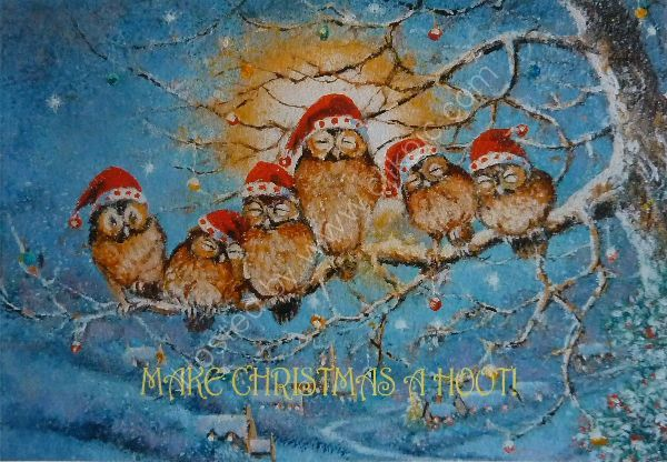 Make Christmas A Hoot