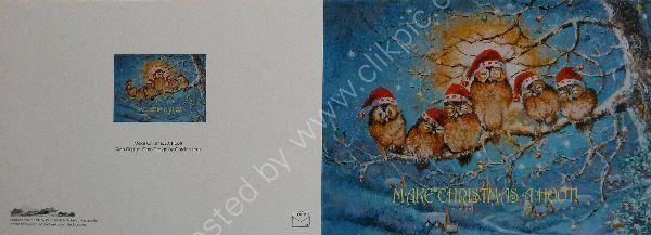 Make Christmas A Hoot Card