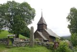 Hayangerfford church near Bergen, Norway. Haulhous wooden church