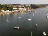 Plymouth bay from above