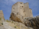 Ruins of  Mula Castle, Murcia in Spain