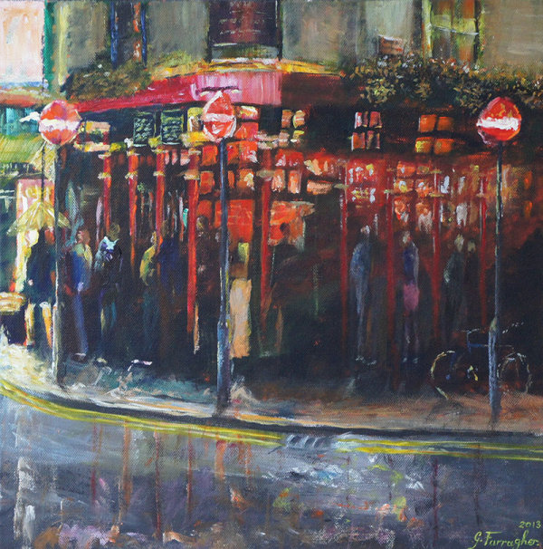 The Big Smoke (40cmx40cm £450)