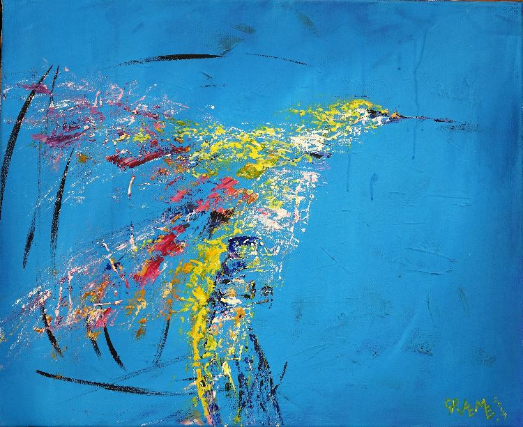 """Free to fly 2  (22""""x18"""" £250) **SOLD**"""