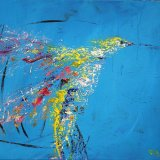 """Free to fly 2  (22""""x18"""" £250)"""