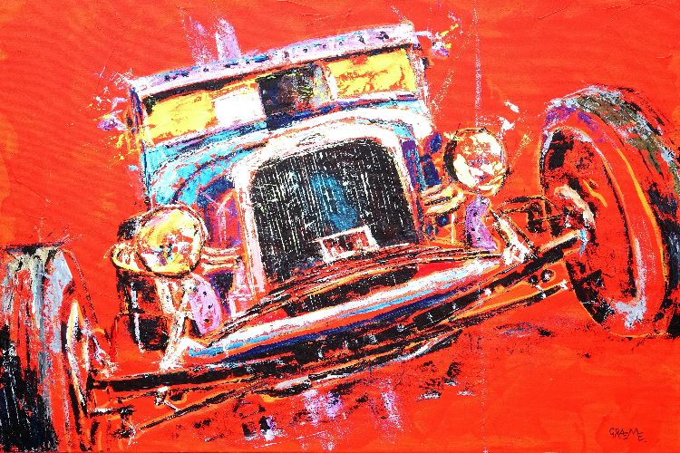 Hot Wheels **SOLD** Prints available.