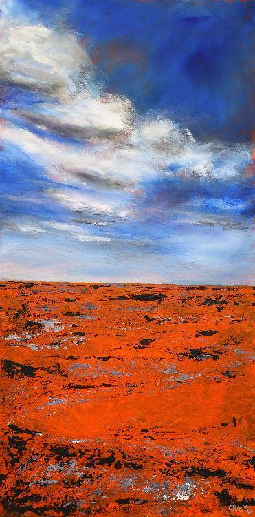 Over the horizon (£450 100cmx50cm)