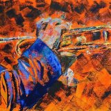 Passion of music  (£650) 100cmx50cm)