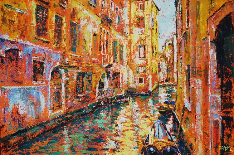 Venice **SOLD** £750 Prints available.