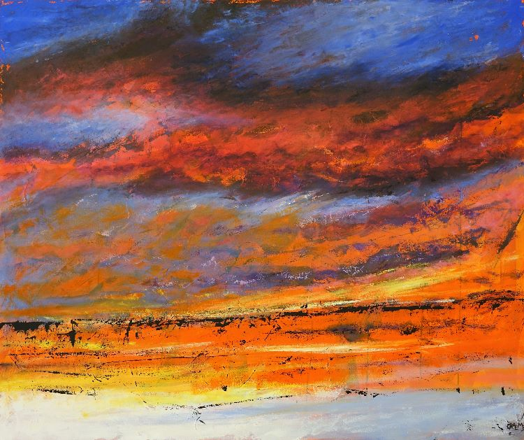 Warm glow (£950 1.2mx1m) ****SOLD****Canvas prints available