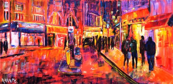 Street (£650 100cmx50cm) **SOLD**