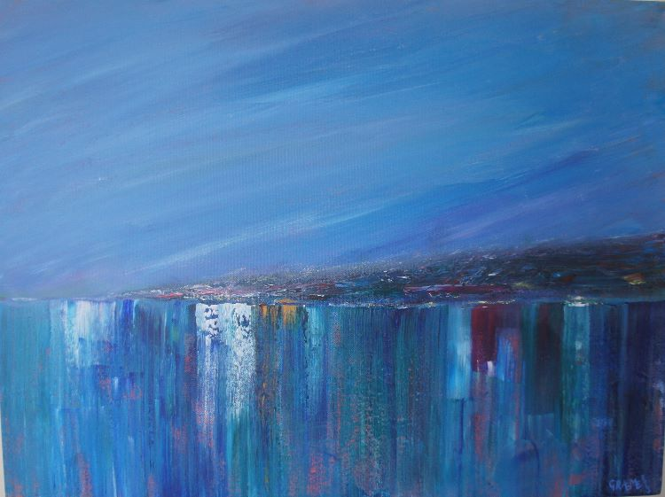 Moody Seas  **SOLD**  £550