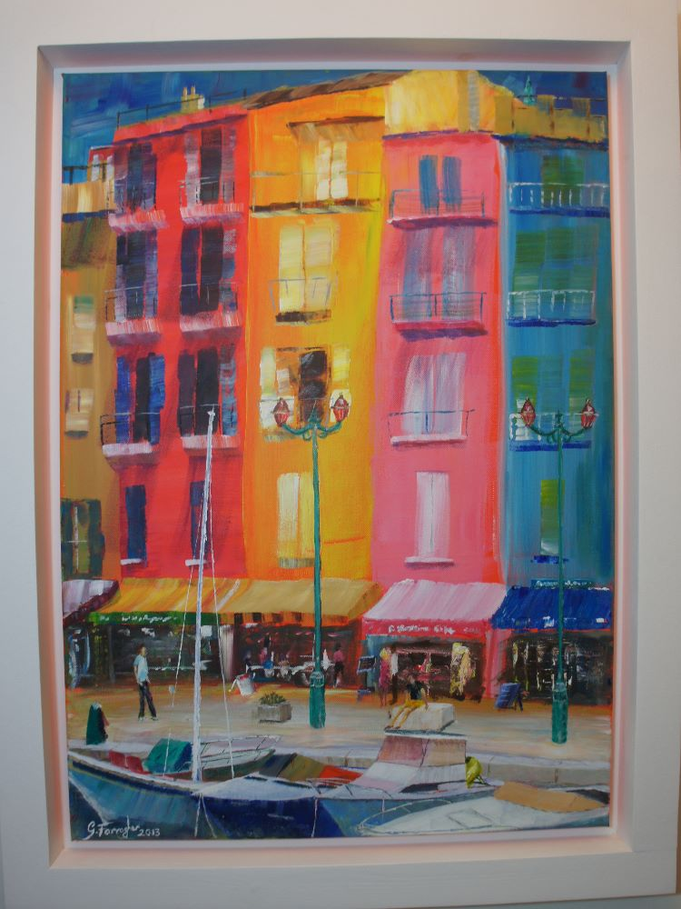 St Tropez. **SOLD** £650  Prints available.