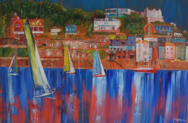Simple Pleasures of Salcombe  **SOLD**  £550