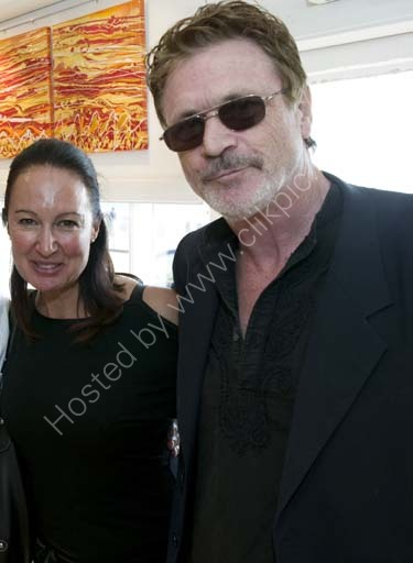 Patrick Bergin and Anita Ellison