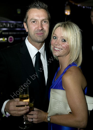 Cricketer Ian and Emma Salisbury