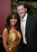 Linda Lusardi with husband Sam Kane