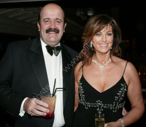 Willie Thorne and partner