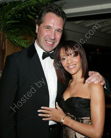 David Seaman and partner