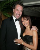 David Seaman and partner