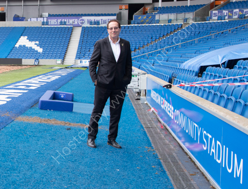 Peter James at the AMEX