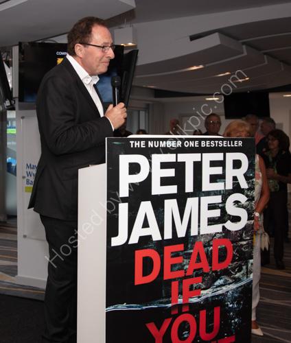 Peter James Book Launch