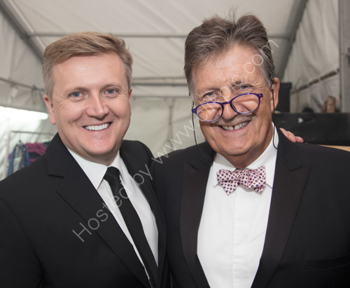 Tim Wonnacott and Aled Jones