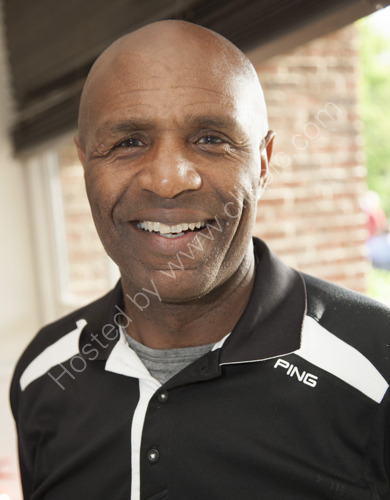 Former England footballer Luther Blissett
