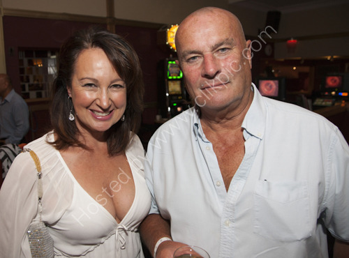 Chris and Anita Ellison at Rendezvous Casino