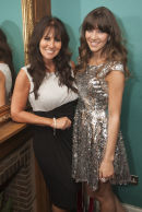 Linda Lusardi and daughter Lucy