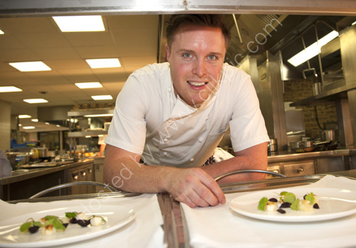 Masterchef Professionals winner  2013 Steven Edwards at South Lodge