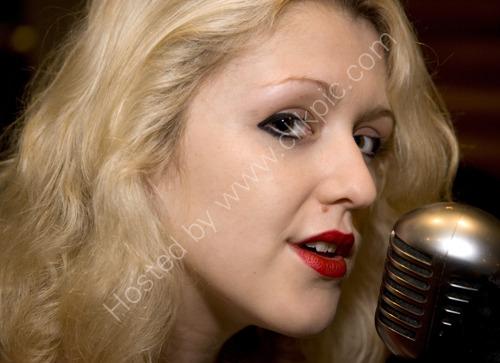 Jazz singer Jenny