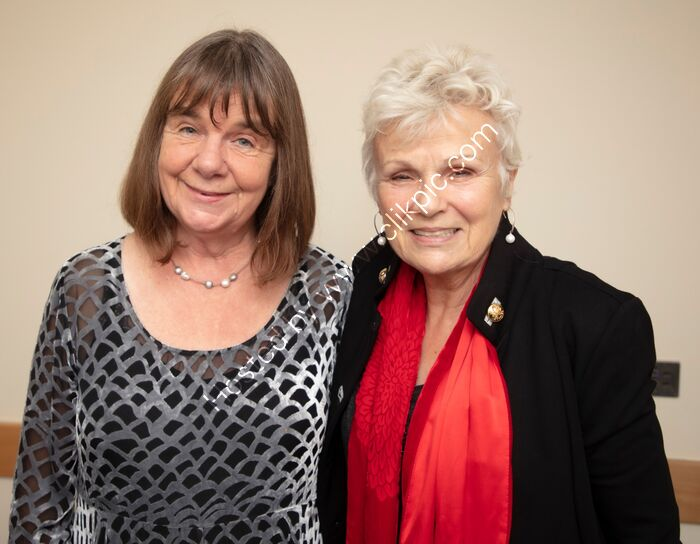 Julia Donaldson and Julie Walters