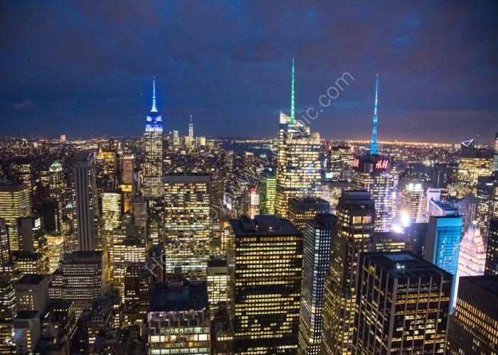 Manhattan Light Show4