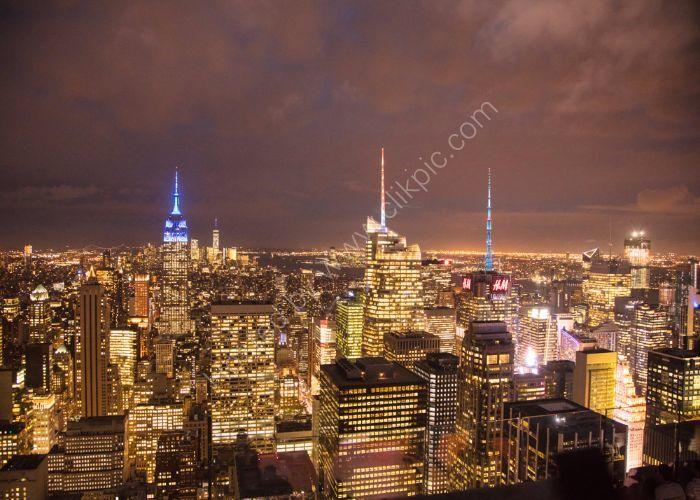 Manhattan Light Show 10