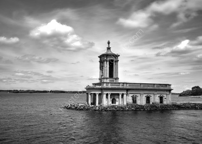 Normanton Church b&w