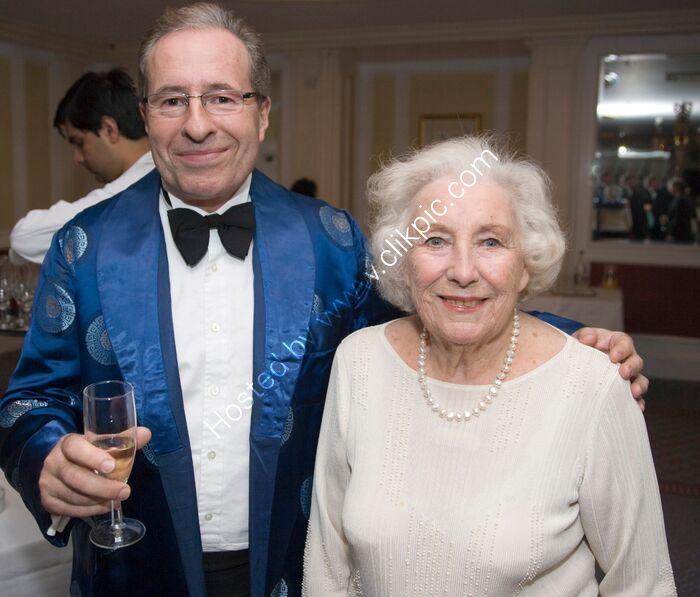 Peter James and Vera Lynn