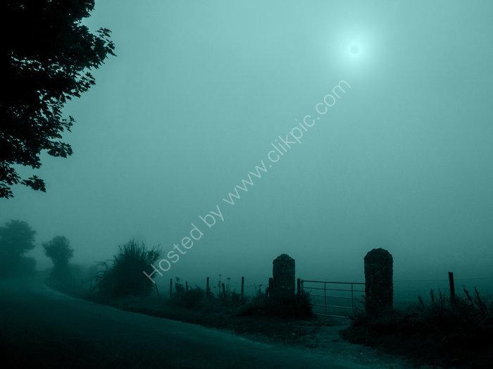 Slightly Scary Misty Morning